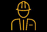 Tradesman icon.